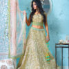 Gold Reception Bridal Lengha